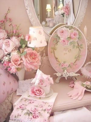 Shabby Chic Love or just beautiful pink roses