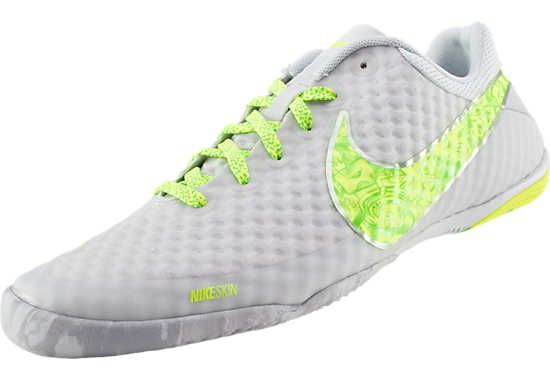 1ffc39f2a6351 Nike FC247 Elastico Finale II Premium - Platinum with Green...On Sale at  SoccerPro now.