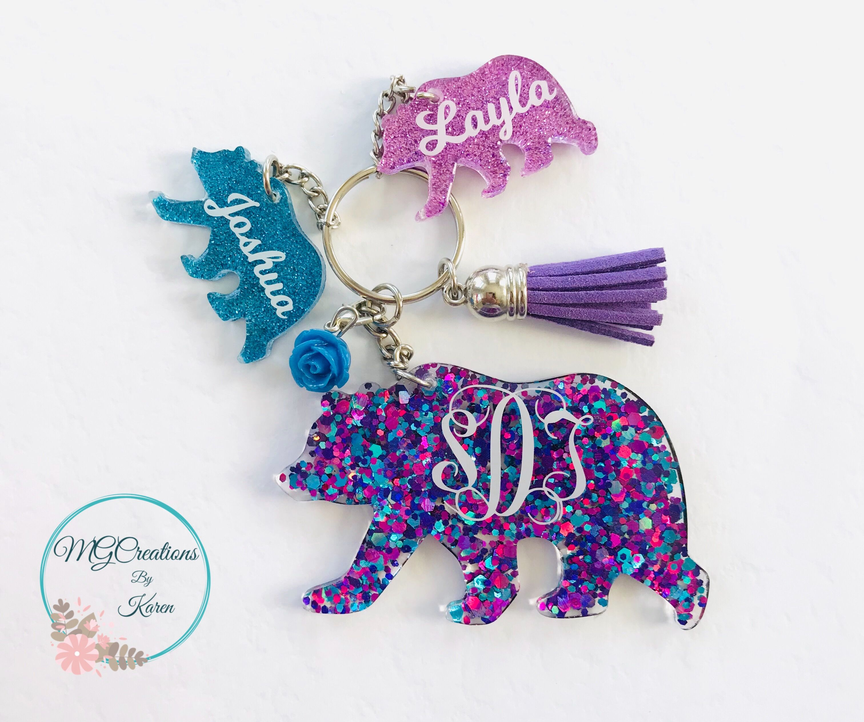 Mama Bear Svg For Keychain  – 150+ Best Quality File