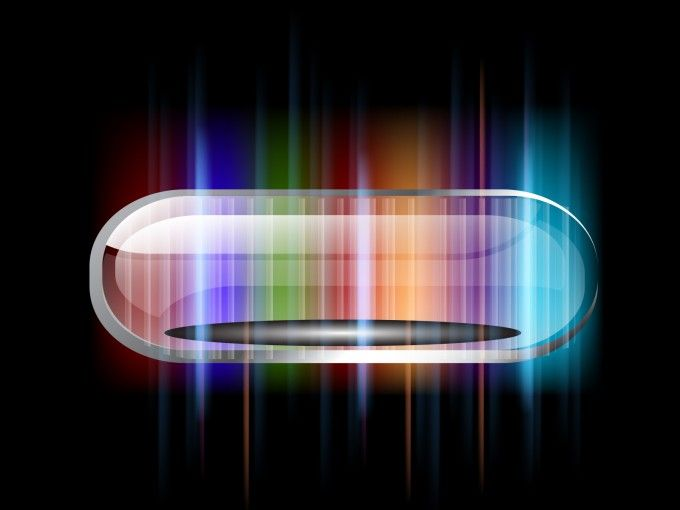 Download Free Colorful Ellipse With Stripes Powerpoint Backgrounds
