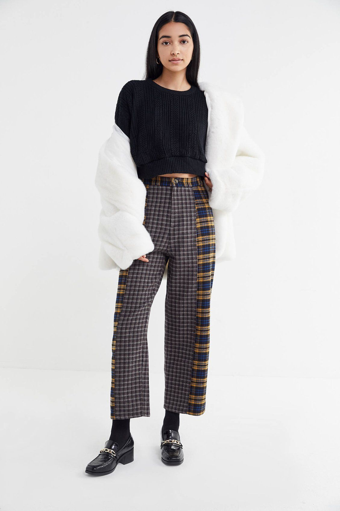 Urban Renewal Recycled Cropped Sweater New Arrivals Fashion