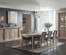 Salle à manger complète chêne massif rustique SHELBY | Salle à ...