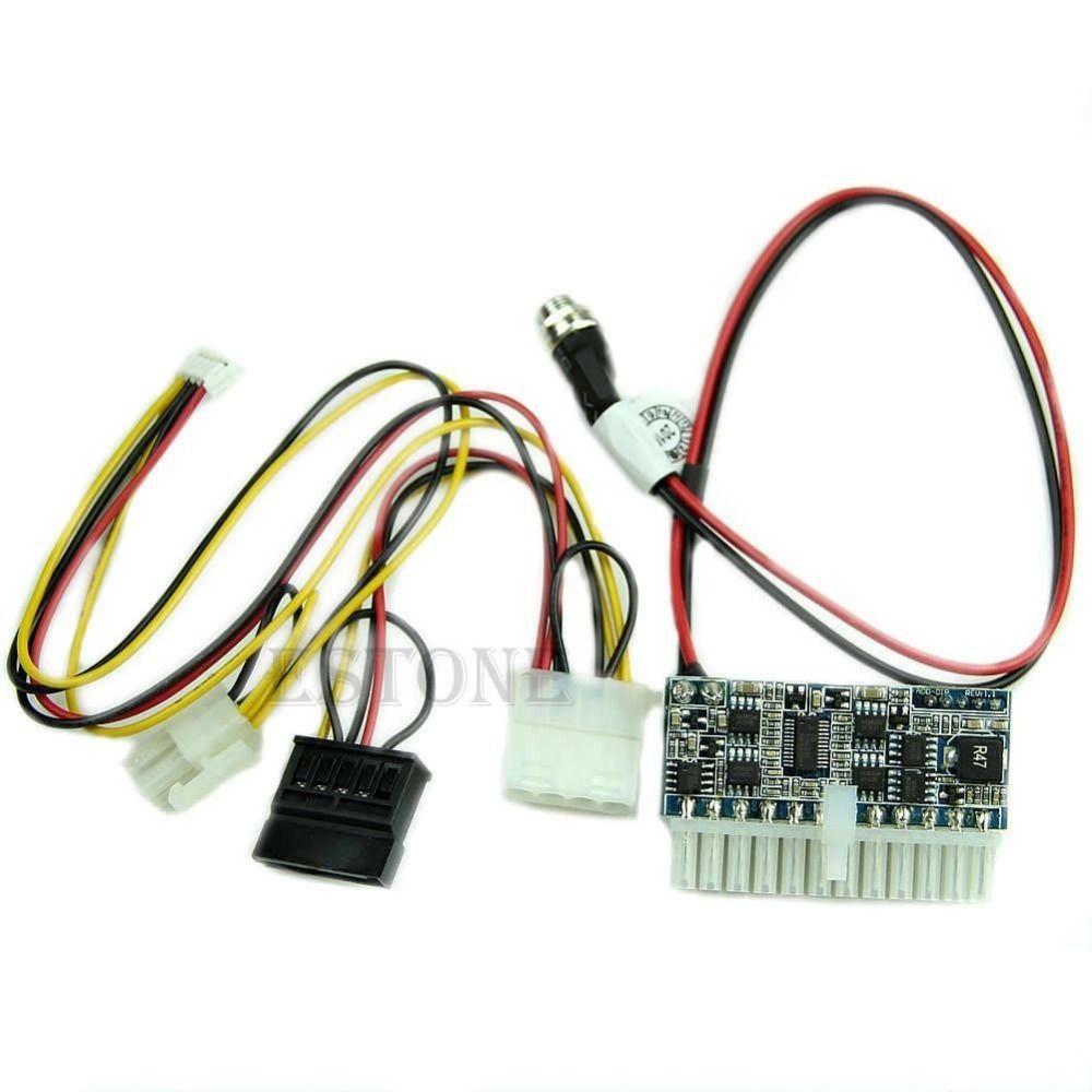 Dc 12 V 160 W Interruptor 24pin Pico Atx Psu Car Auto Mini Itx Wiring Volt Ac To Fuente De Alimentacin Alto Mdulo