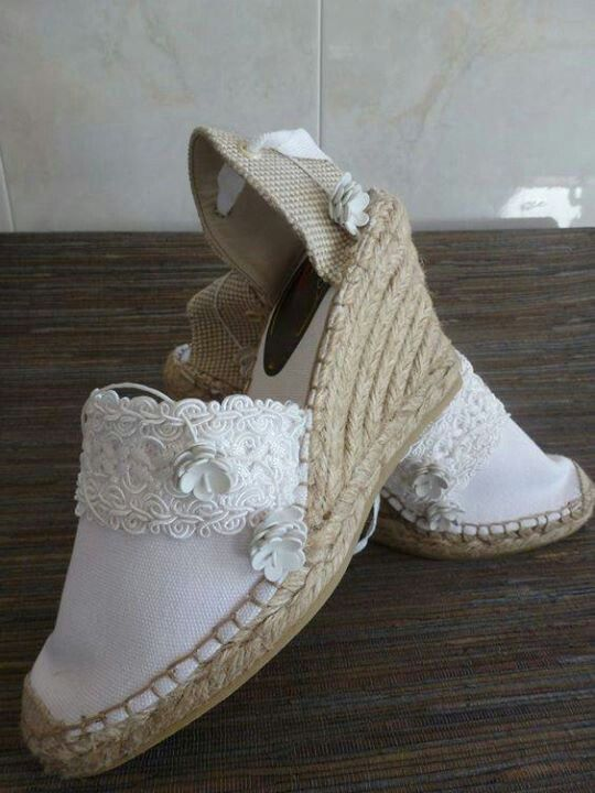 zapatillas esparto boda