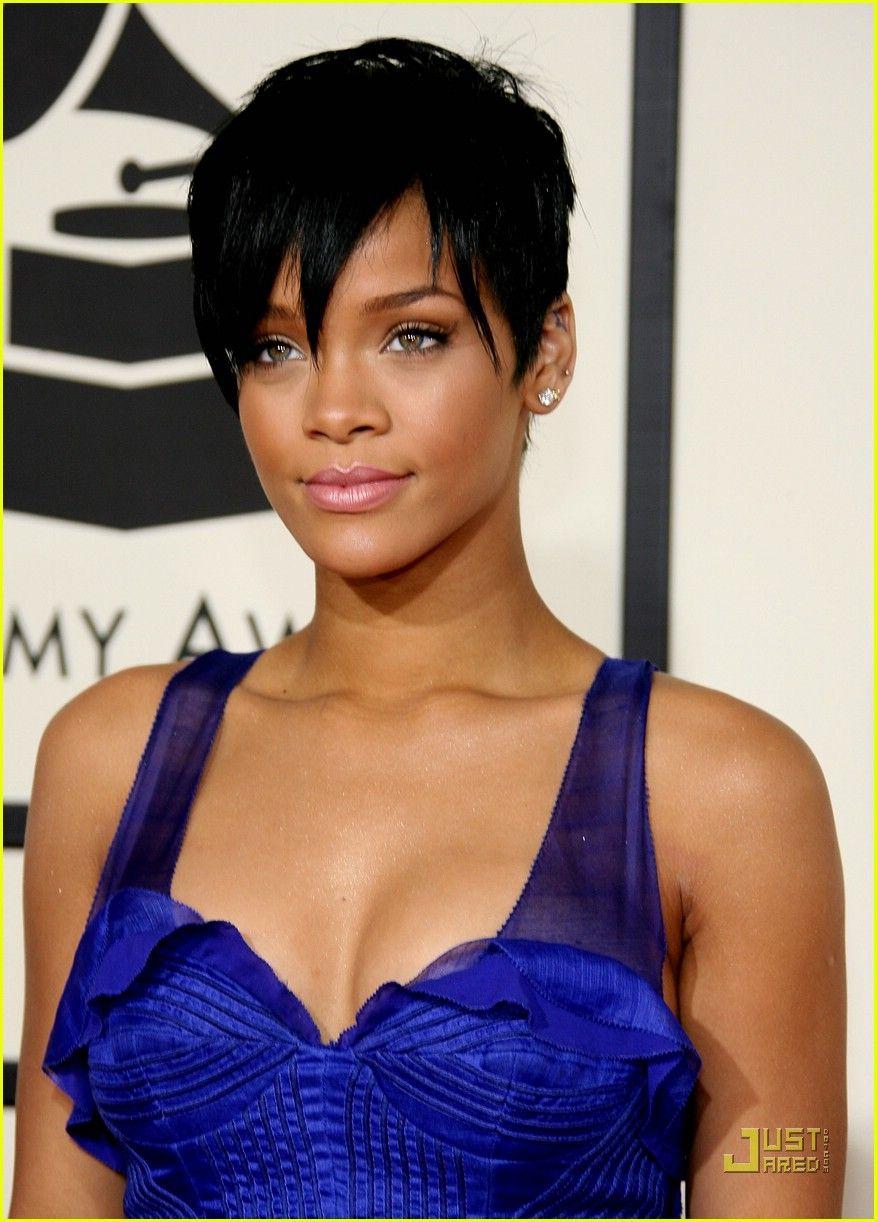 Rihanna Short Hair Photos Rihanna Short Hair Celebrity Short Hair Pixie Hairstyles