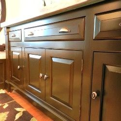 How To Paint Bathroom Cabinets Without