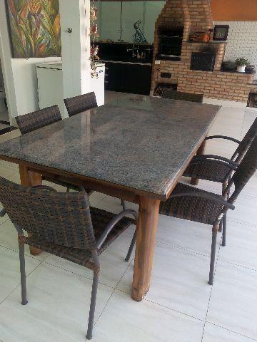 Mesas com tampo de granito pesquisa google cocinitas - Mesa de granito ...