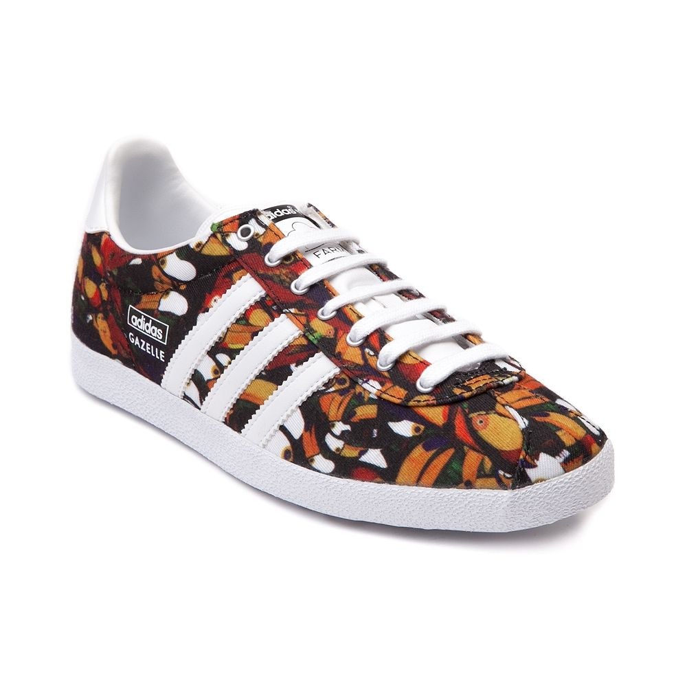 Womens adidas x FARM Gazelle OG