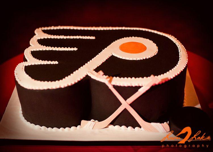 Philadelphia #Flyers cake Sweet, Sweet Hockey Hockey cakes