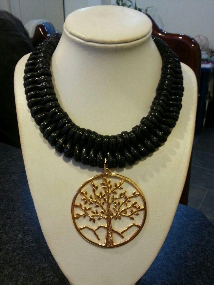 69573869842d Pin de Cleidismar Arismendi en ♥Bisuteria♥   Collar de moda ...