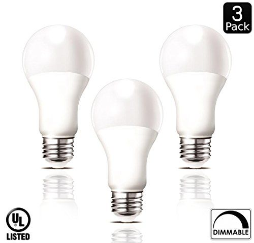 Luxrite Lr21084 3pack 14watt Dimmable Led A21 Light Bulb 100watt Equivalent Bright White 5000k 1500 Lumens Medium Screw Base E26 U Dimmable Led Light Bulb Bulb