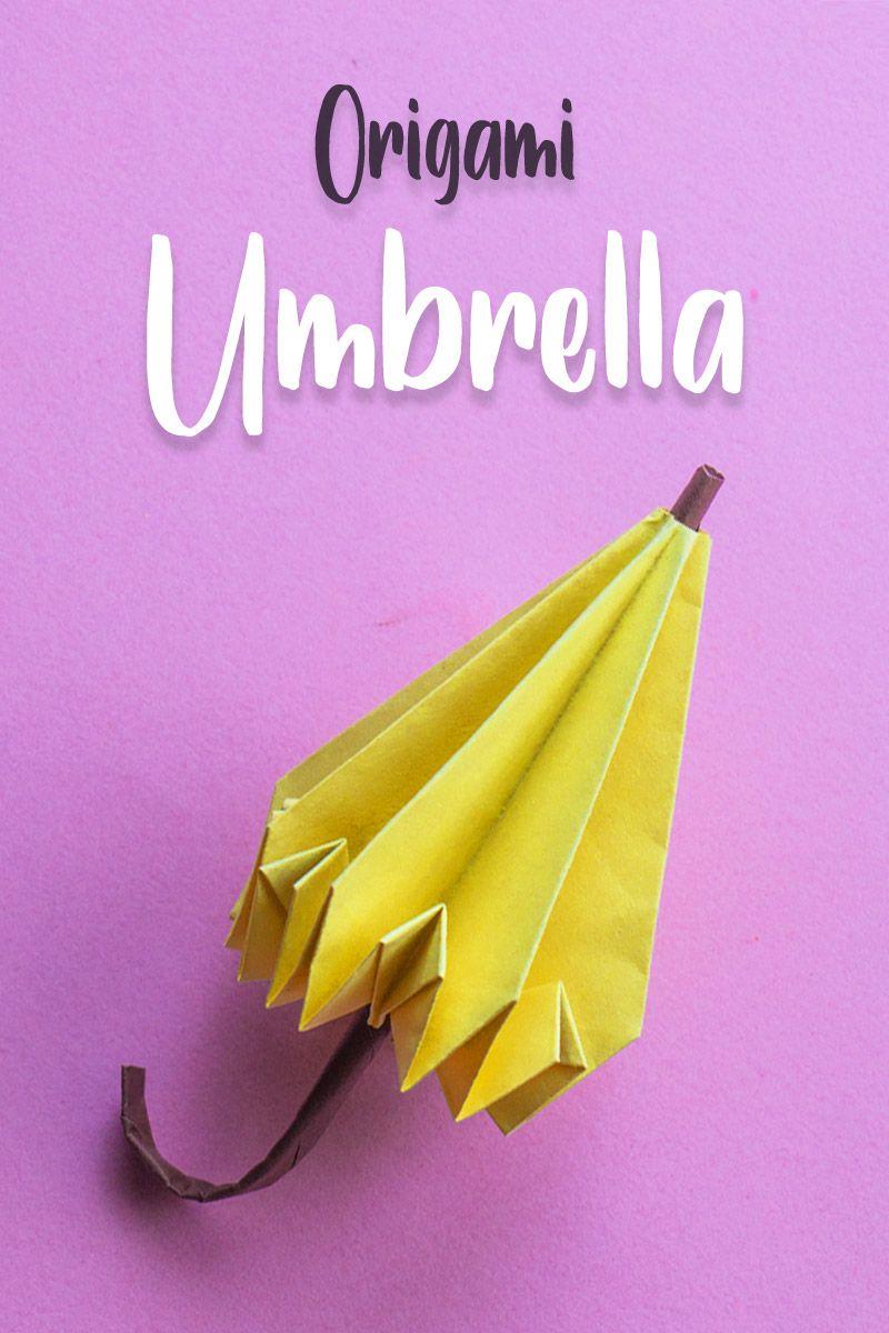 ORIGAMI UMBRELLA -- the tutorial is UP! - PAPER CRAFTS ... | 1200x800