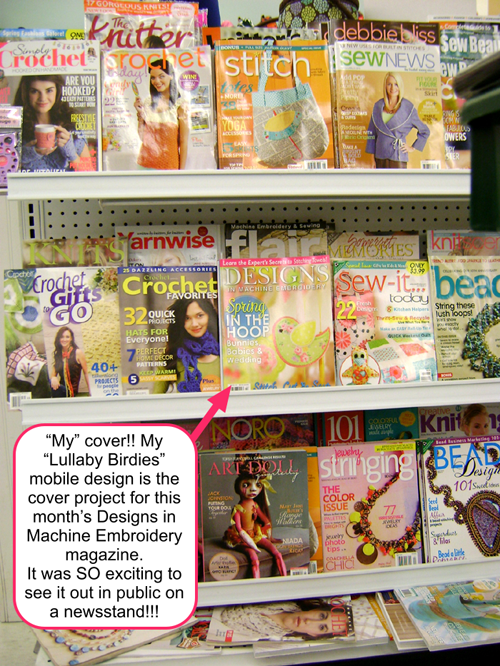I Was So Excited To See My Cover On An Actual Newsstand More
