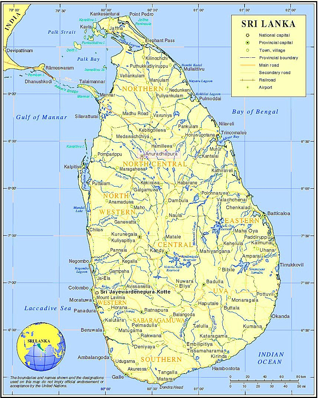 Where Is Anuradhapura On Map Of Sri Lanka Anuradhapura Sri Lanka Photo Location