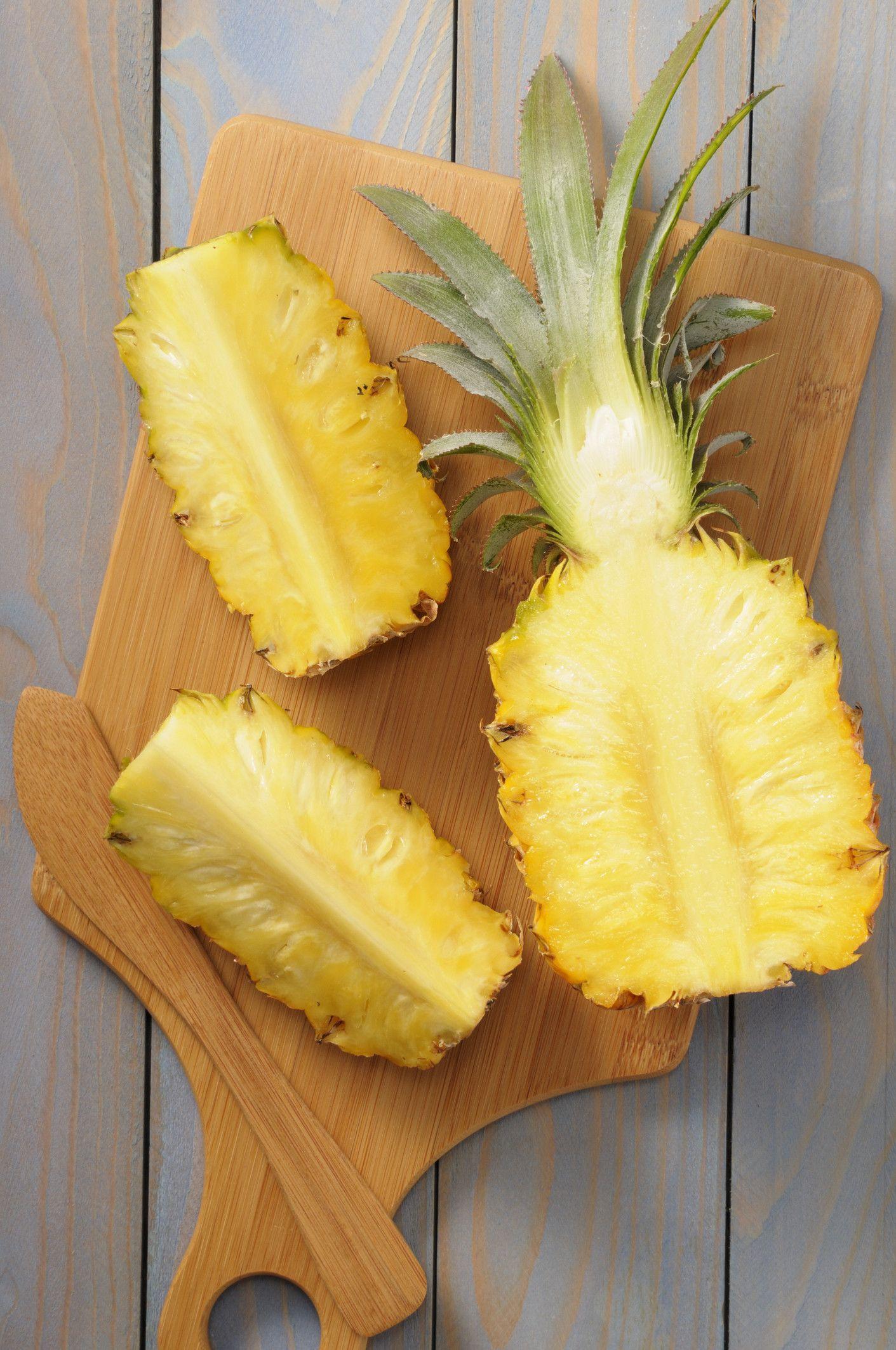 Eight Natural Remedies for Seasonal Allergies Pineapple