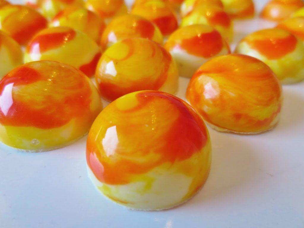 Vanille Orange Pralinen