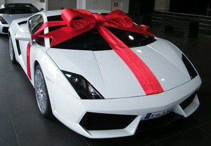 бентли в подарок
