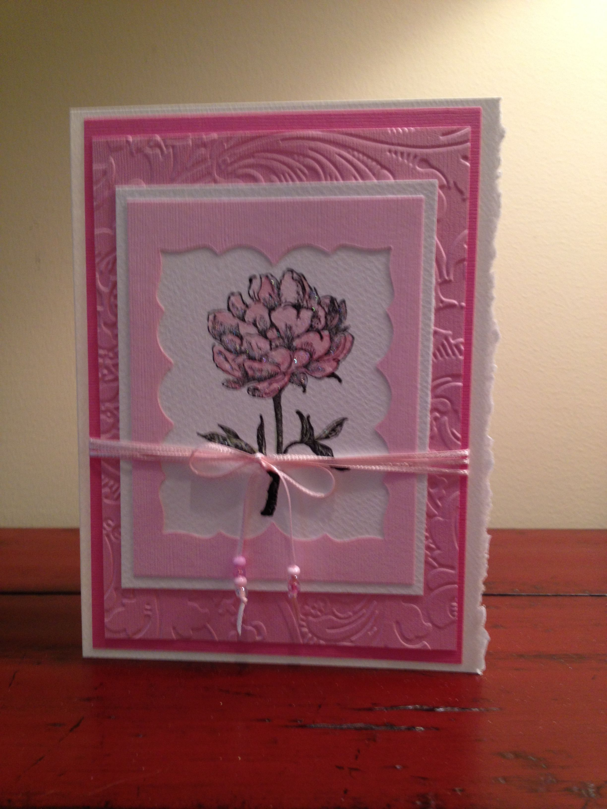Handmade birthday card birthday cards pinterest handmade