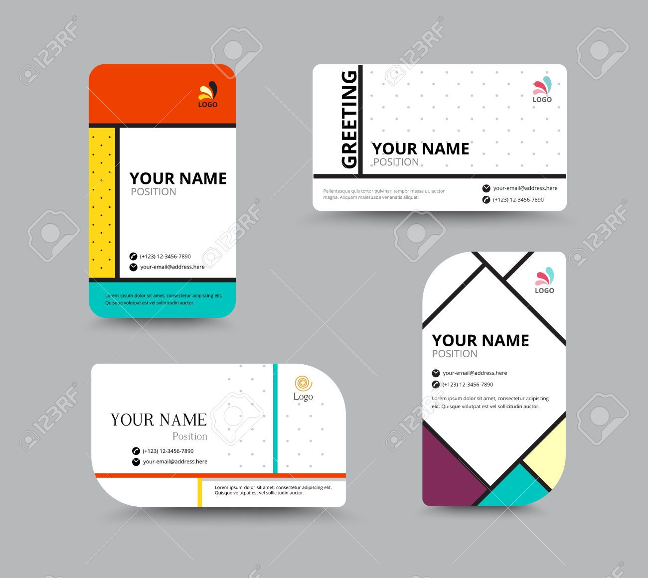 41841434-Business-card-template-name-card-design-for-business ...