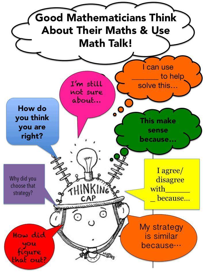 Thinking Talking About Math Math Talk Math Discourse