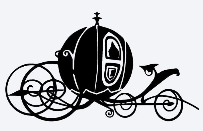 Cinderella Carriage Silhouette Clipart Clipartfest Cinderella Pumpkin Carriage Pumpkin Carriage Cinderella Pumpkin