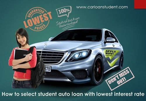 Best Way To Select Student Car Loans No Credit No Cosigner Online