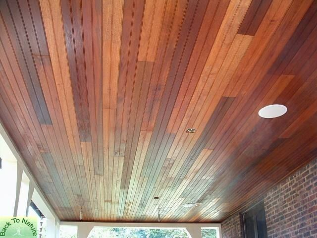 Matt S Project For Our Screened In Porch Timber Ceiling Wood Ceilings Tongue And Groove Ceiling