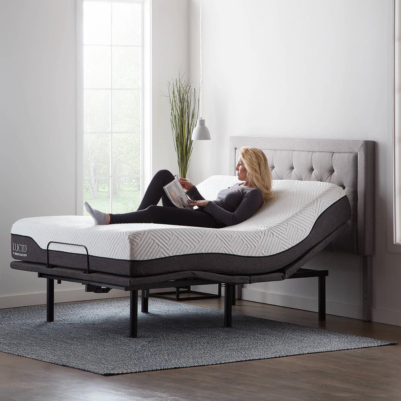 Adjustable Bed Base in 2020 Adjustable bed base, Bed