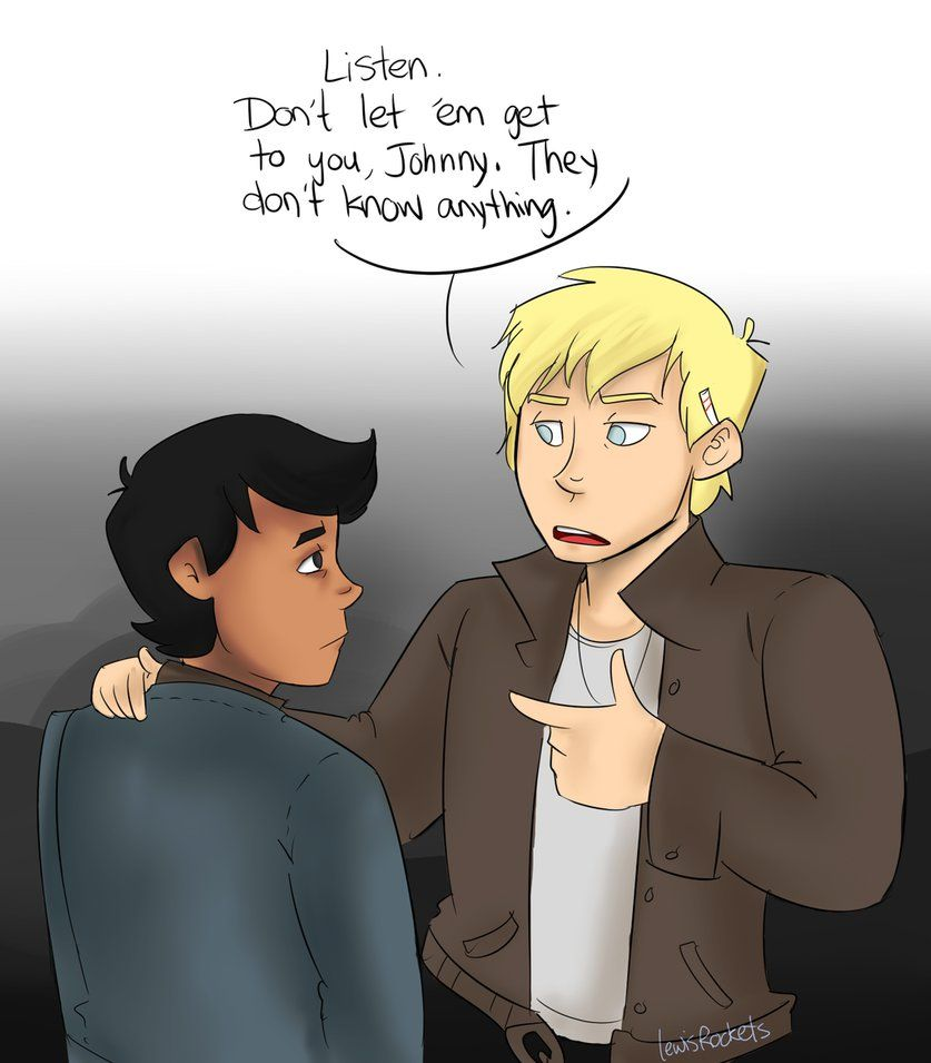 What Page Number Is The Quote Stay Gold Ponyboy On: Outsiders: Advice By Lewisrockets On DeviantArt