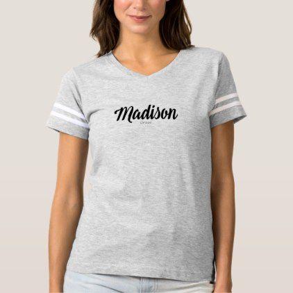 #Madison Name Tees by VIMAGO - #Xmas #ChristmasEve Christmas Eve #Christmas #merry #xmas #family #kids #gifts #holidays #Santa