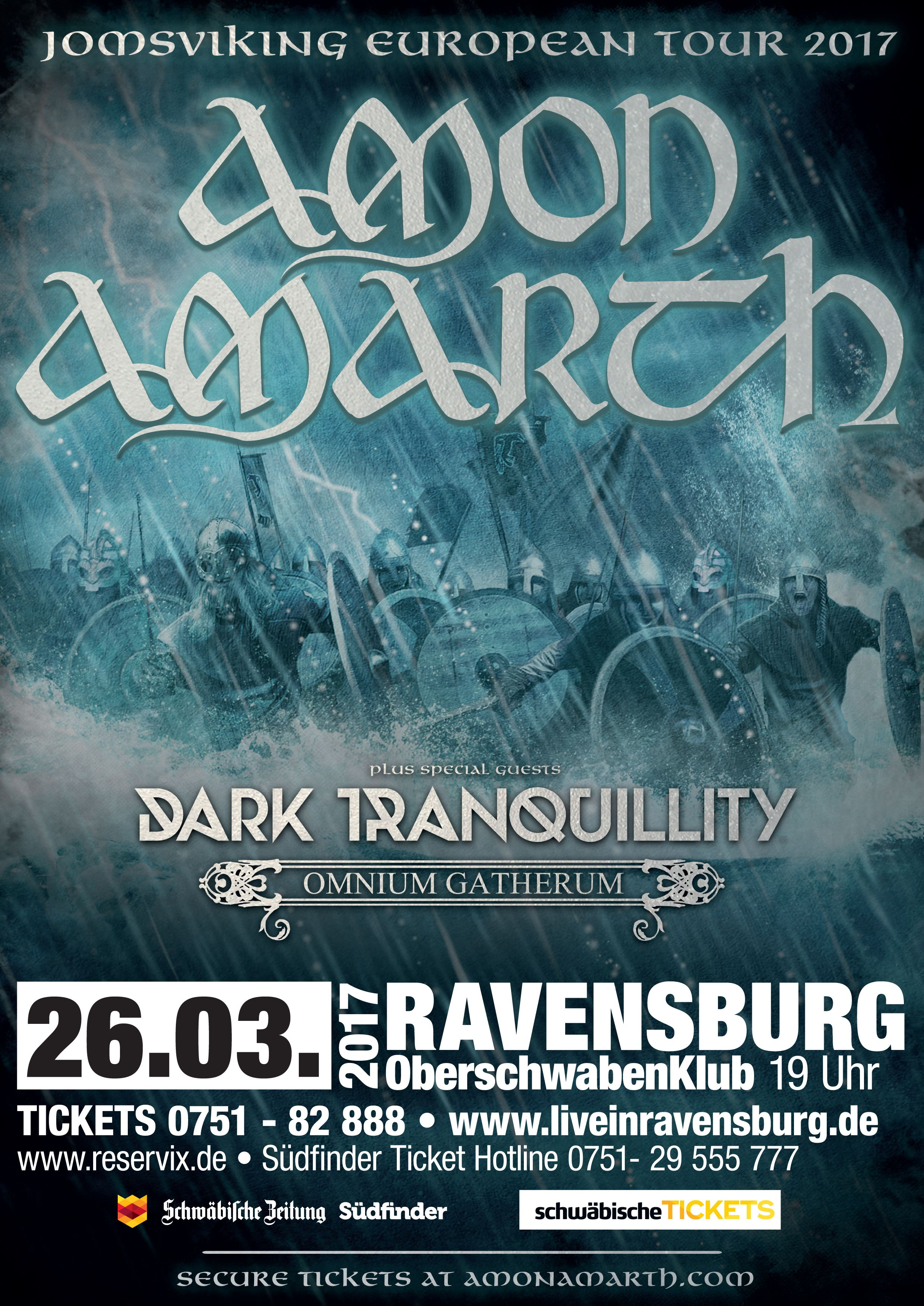 #amonamarth #ravensburg #oberschwabenhalle #heavymetal