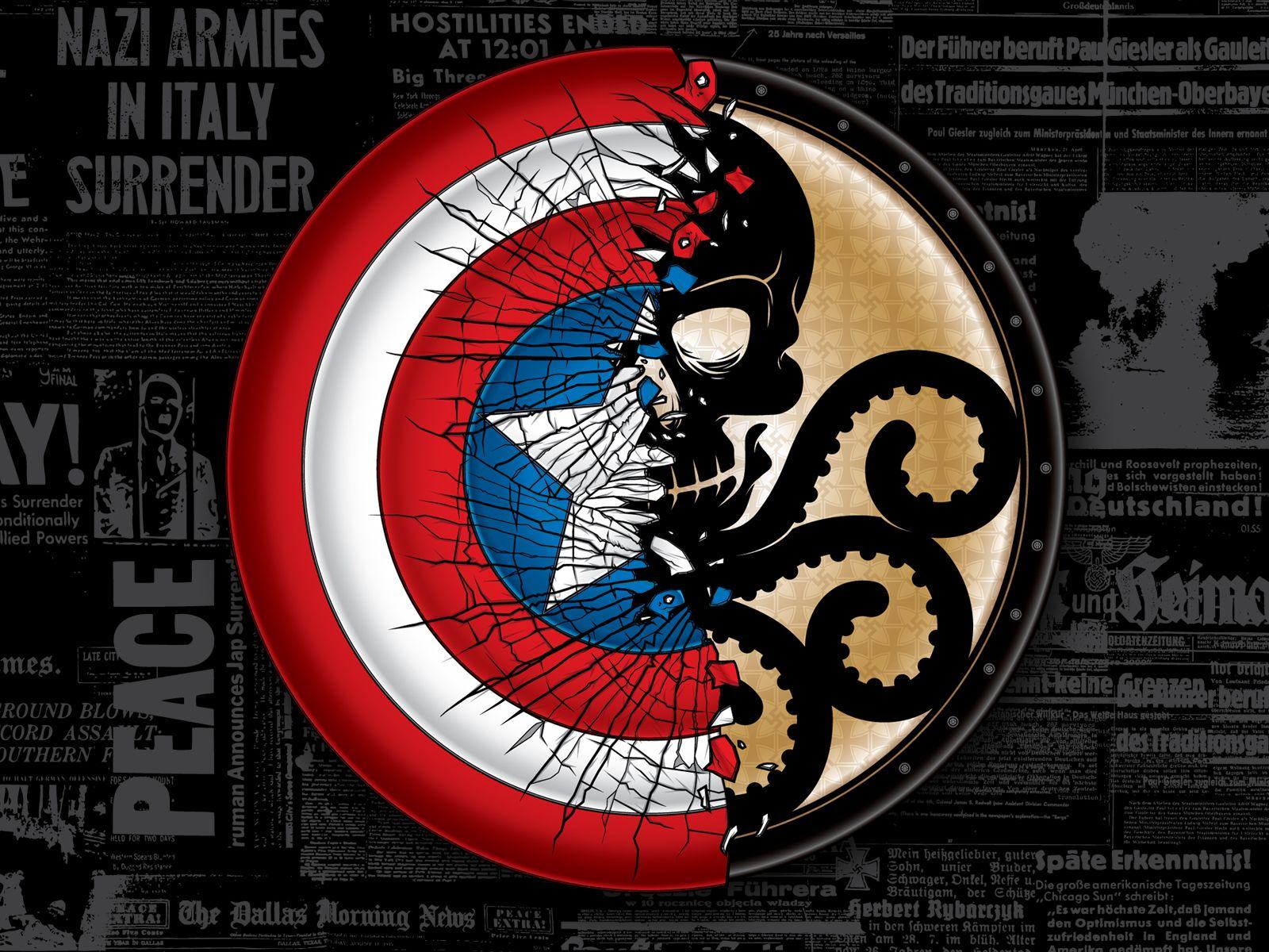 Captain America Vs Hydra By Anthony Petrie Captain America Comic Captain America Pictures Superhero