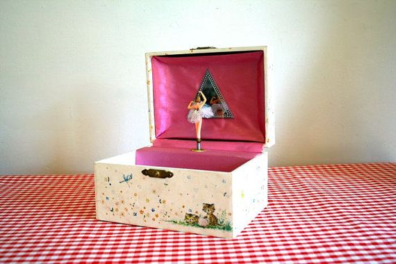 Ballerina jewelry boxes Still have mine but my ballerina is broke
