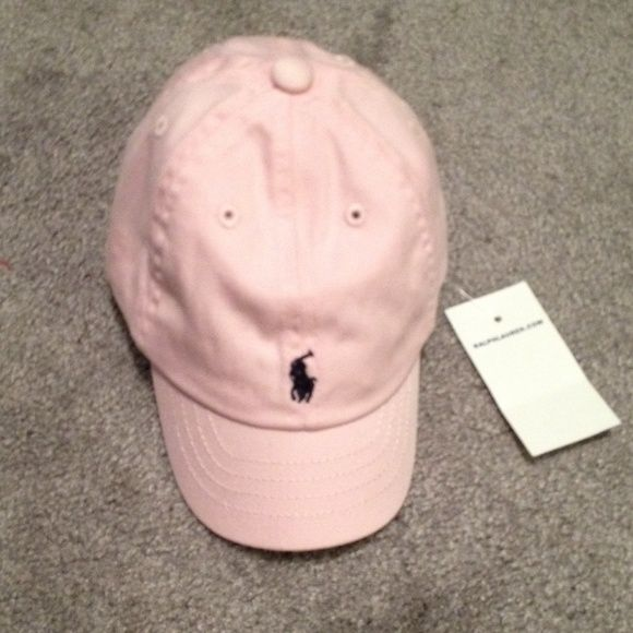 908457c1 Polo baby girl hat New with tags! Pink polo hat for baby ...
