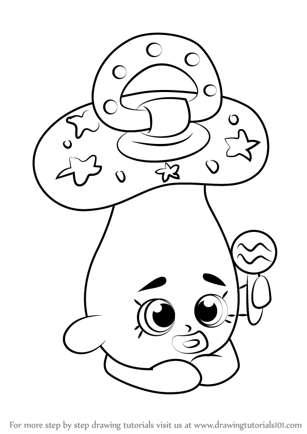 How To Draw Dum Mee From Shopkins