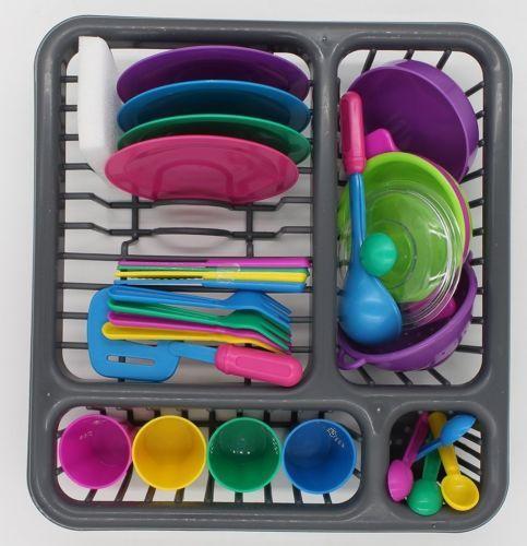 Dish Drainer Tableware Kitchen Playset