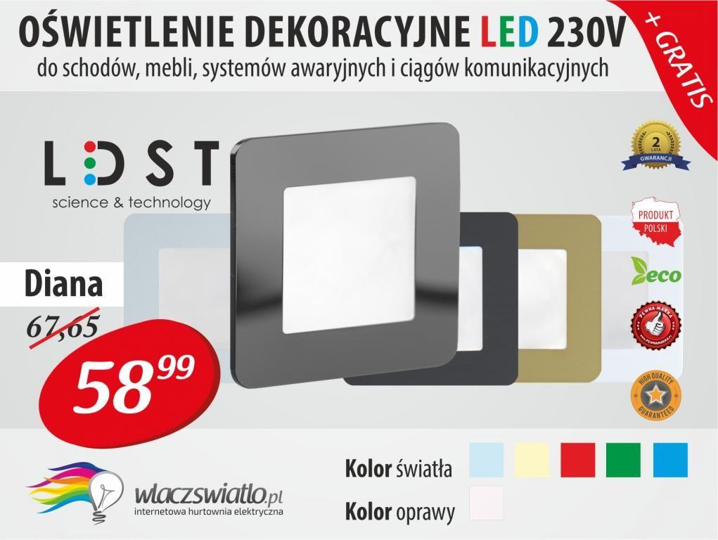 Oswietlenie Dekoracyjne Led 230v Diana Ldst 4983781893 Oficjalne Archiwum Allegro Bar Chart Chart