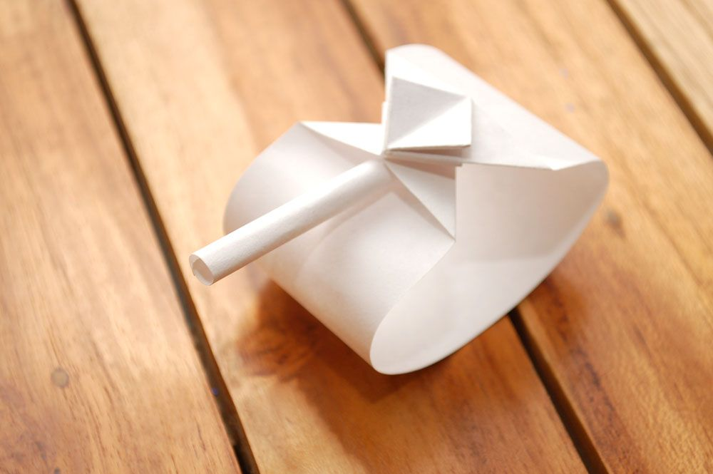 Paper tank. Origami tank (easy 2 minutes) | Paper tanks, Origami ... | 665x1000