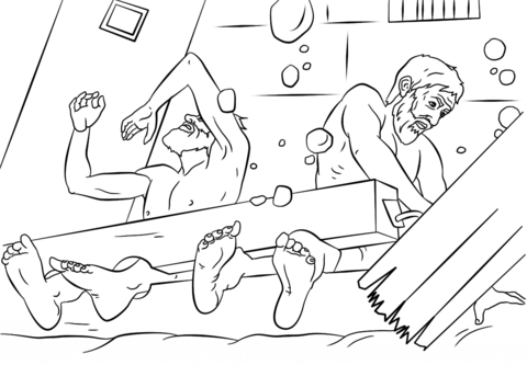 Paul And Silas Survives Earthquake Coloring Page Free Printable Coloring Pages Bible Coloring Pages Sunday School Coloring Pages Coloring Pages Inspirational