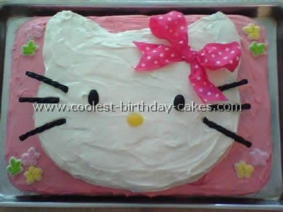 Coolest Hello Kitty Cake Photos and HowTo Tips Hello kitty cake