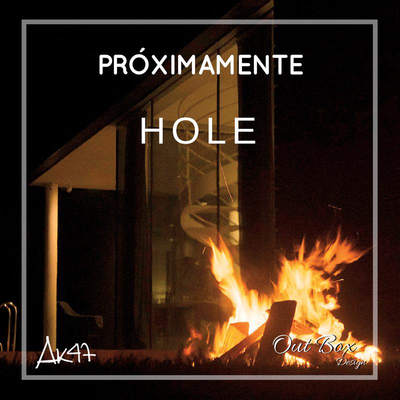 """Hole, no solo es un """"hoyo"""" en el suelo, es la mejor fogata que hayas presenciado."""
