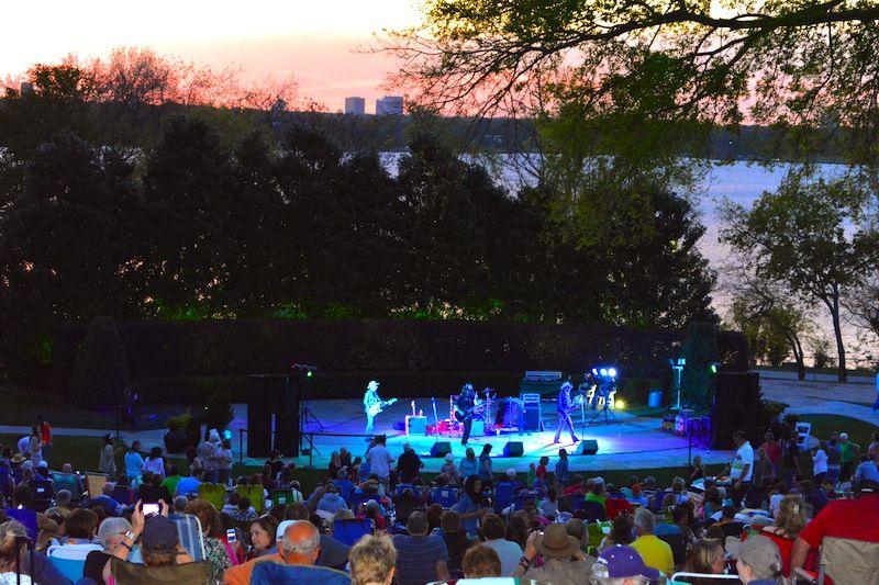 Cool Thursday Concert, The Dallas Arboretum, Outdoor