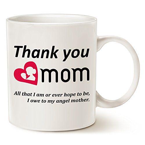 funny cat games - Christmas Gifts Mom Coffee Mug - Thank you mom