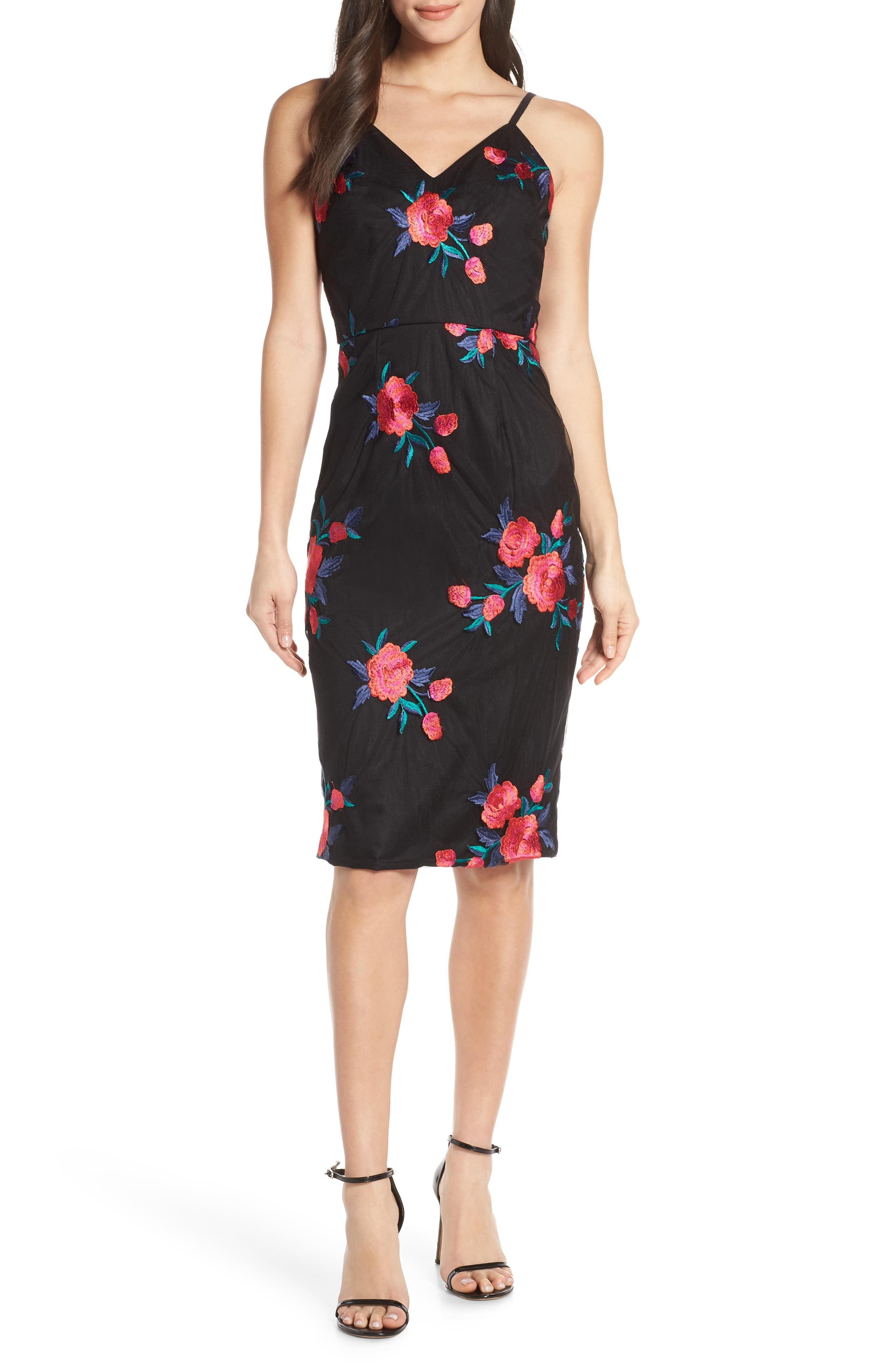 Chi Chi London Margaret Embroidered Mesh Cocktail Dress Nordstrom In 2021 Trendy Cocktail Dresses Mesh Cocktail Dress Fashion Clothes Women [ 4048 x 2640 Pixel ]