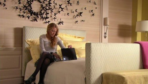 Gossip Girl Bedroom the style files: serena van der woodsen room: gossip girl decor