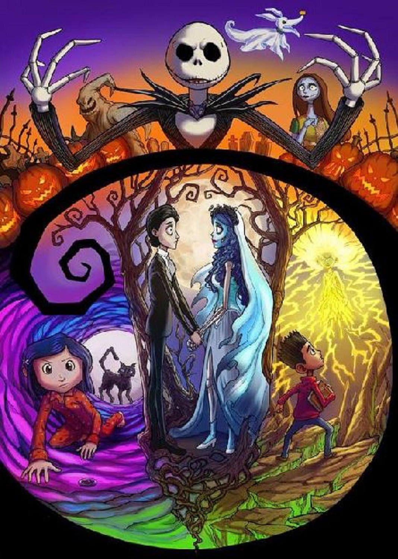 Buy 2 Get 1 Free Nightmare Before Christmas 137 Cross Stitch Pattern Counted Cross Stitch Chart Pdf Form Tim Burton Art Disney Art Nightmare Before Christmas