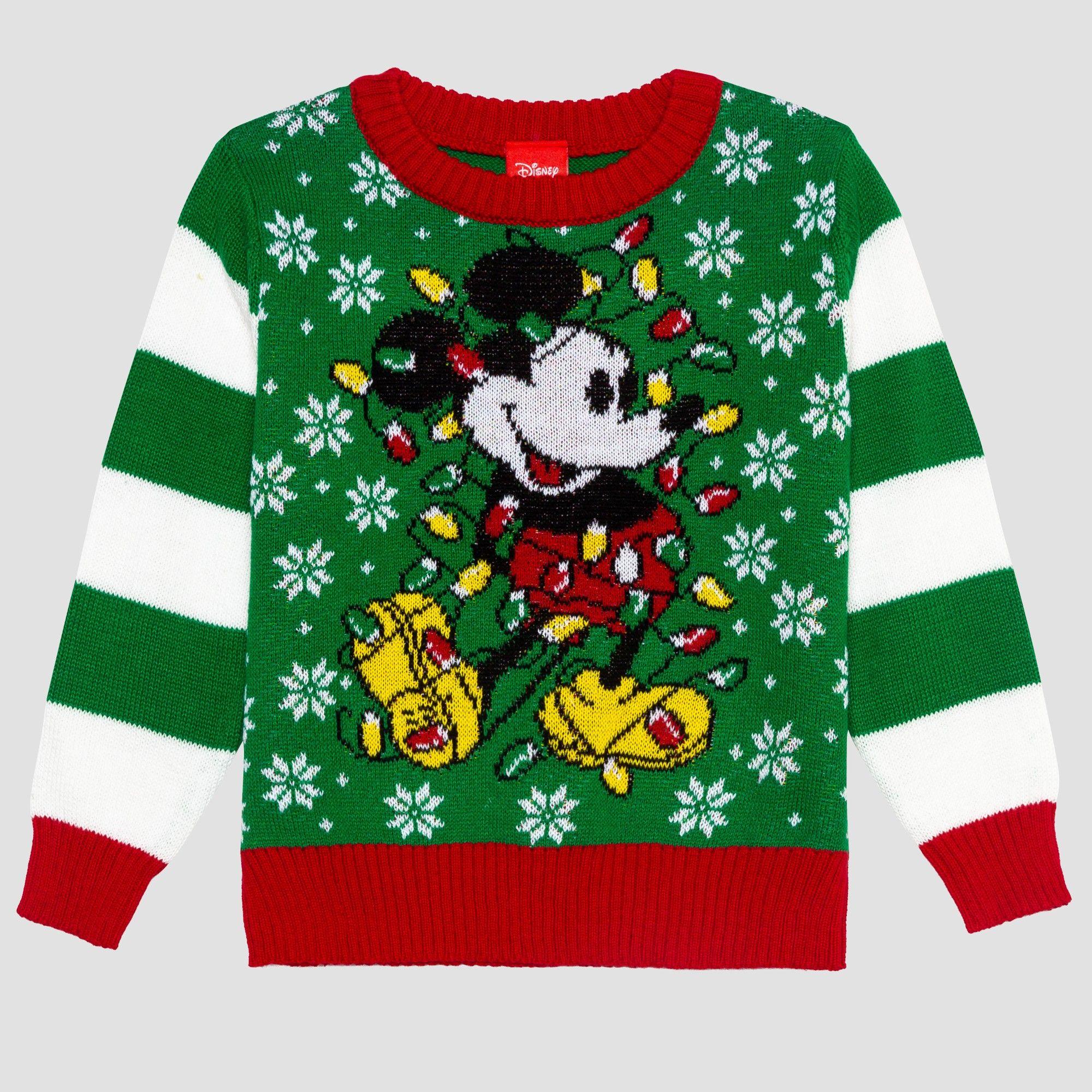 Disney Boys Ugly Christmas Sweater