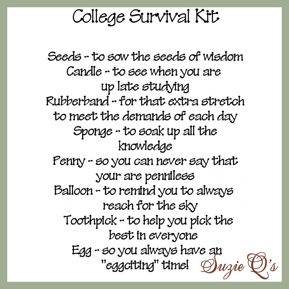 homesick college freshmen 8 ways parents can help homemade college survival kit includes topper and card by suzieqscrafts 1 50