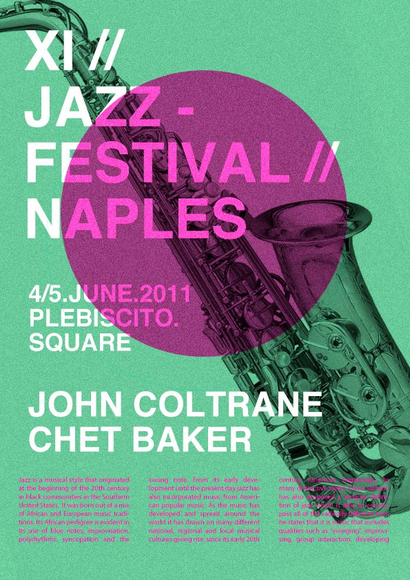 jazz festival poster - Google Search | Cool Posters ...