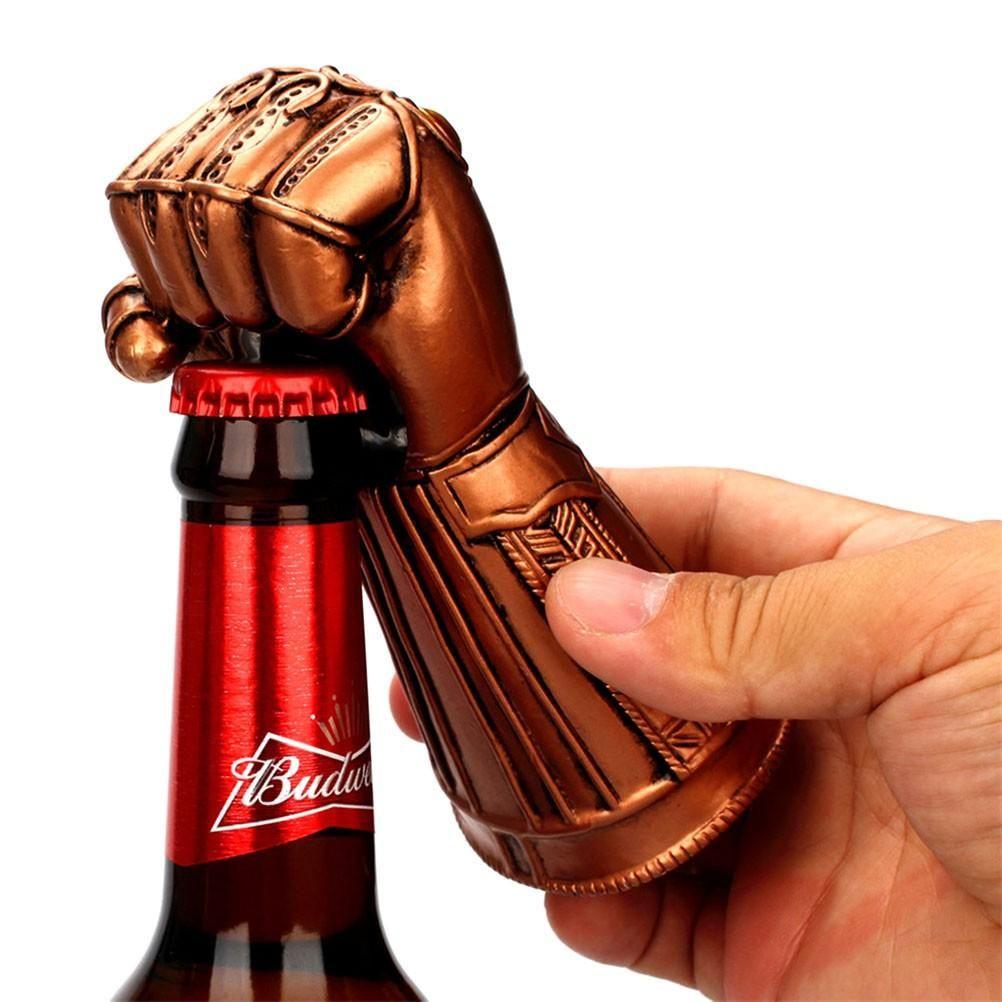 Infinity Gauntlet Opener Open Bottles With The Power Of The Universe Bottle Cap Opener Beer Bottle Opener Beer Opener